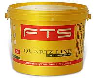Грунт с кварцевым песком FTS BRAVOMIX QP-05 адгезионный белый 10л