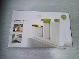 Диспенсер-Органайзер для жидкого мыла с дозатором sink tidy sey, фото 2