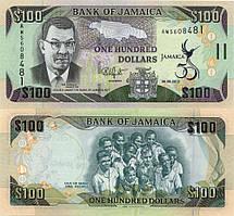Ямайка / Jamaica 100 dollars 2012 Pick90 UNC Comm.