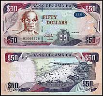 Ямайка / Jamaica 50 dollars 2013 UNC