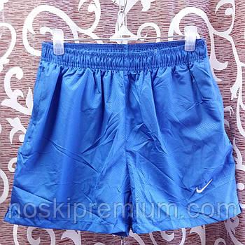 Шорты мужские спортивные Nike, размеры M-3XL, электрик, 8807
