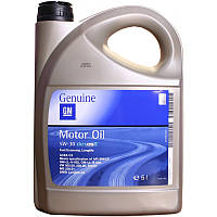 Моторное масло GM Motor Oil 5W-30 Dexos2 5 л