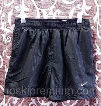 Шорты мужские спортивные Nike, размеры M-3XL, чёрные, 8807
