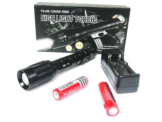 Тактический фонарь X3-T6 8000w