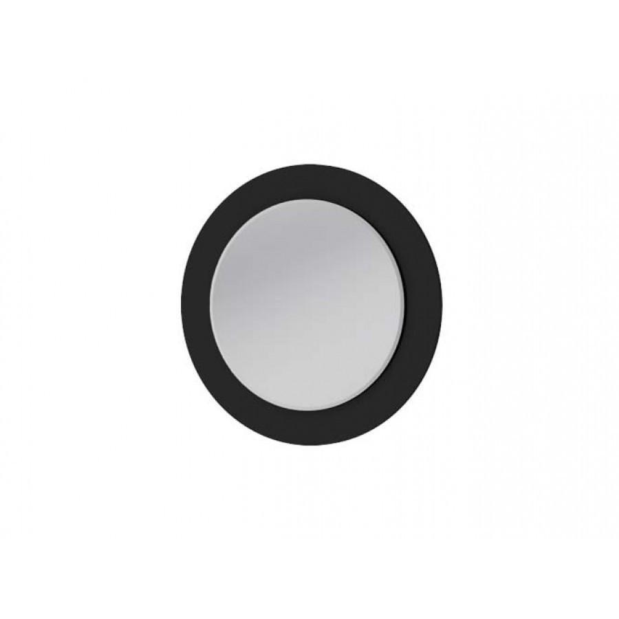 Зеркало с подсветкой Botticelli Vanessa VnM черное, 800х800х50 мм