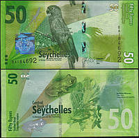 Сейшельские острова ( Сейшелы ) 50 рупий 2016 UNC
