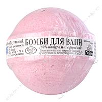 Гейзер Бомба для ванн Розовое дерево 75г