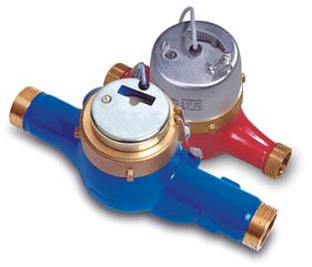 Счётчик горячей воды с импульсным выходом PoWoGaz Master+6.3-NK Ду-25