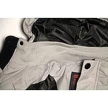 Стильная куртка для мальчика Skorpian для мальчика 134-140 рост серая, фото 3