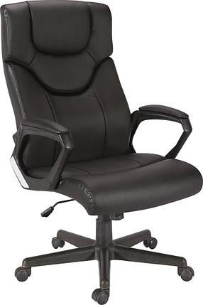 Кресло Глостер кожзаменитель чёрный., фото 2
