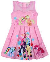Нежно-розовое детское платье My little Pony (Литтл Пони), фото 1