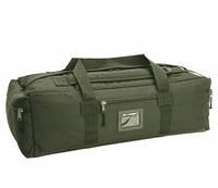 Сумка-рюкзак тактическая хаки ( 110 л )