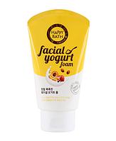 Увлажняющая йогуртовая пенка для умывания Happy Bath Facial Yogurt Moisturizing (Fruit Essence) Фрукты