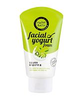 Увлажняющая йогуртовая пенка для умывания Happy Bath Facial Yogurt Fresh (Herb Essence) Лаванда и лимон