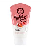 Увлажняющая йогуртовая пенка для умывания Happy Bath Facial Yogurt Smooth (Berry Essence) Лесные ягоды