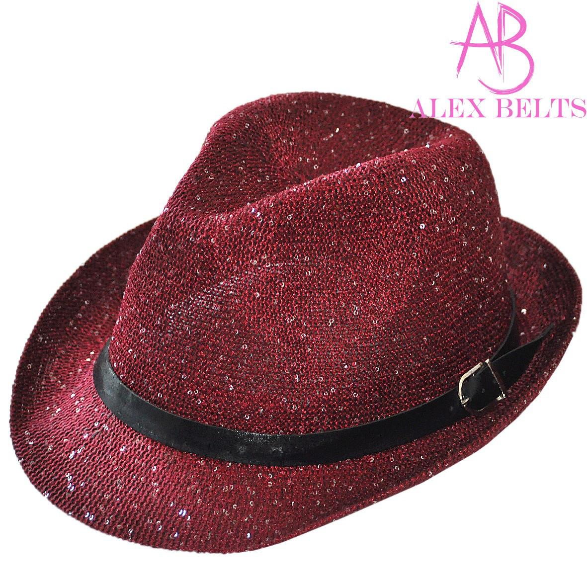 Шляпа  женская  с пайетками р.56-58 см
