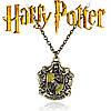 Кулон с изображением герба факультета Пуффендуй из Гарри Поттера