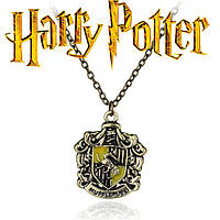 Кулон с изображением герба факультета Пуффендуй из Гарри Поттера, фото 1