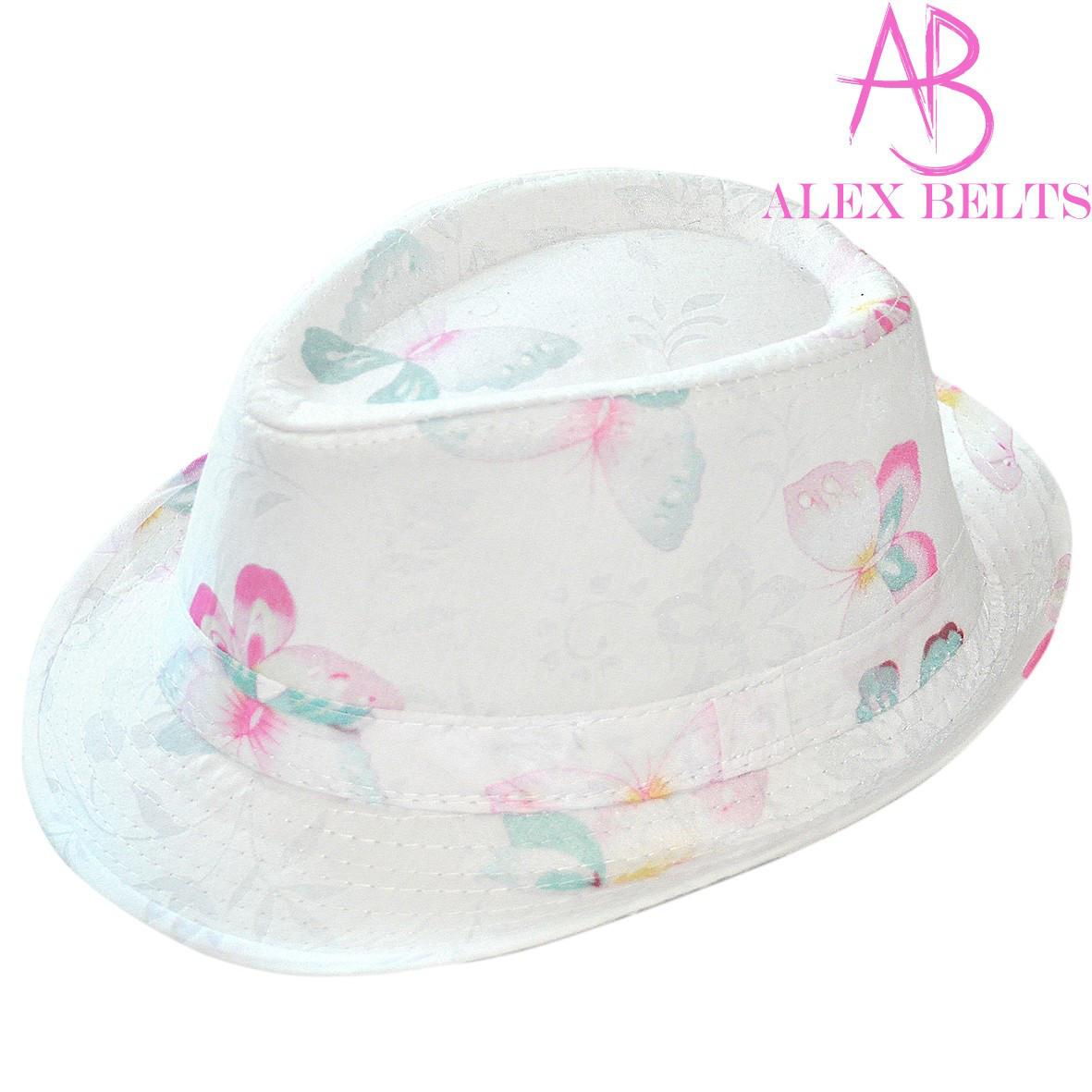 Шляпа  женская (белая) цветы р.54 см-купить оптом в Одессе