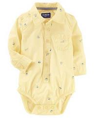 Боди-рубашка для мальчика OshKosh  6-9 мес/67-72 см
