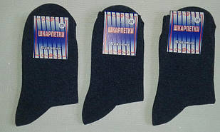 Носки мужские хлопок+стрейч,р.25. Цвет синий. От 10 пар по 7грн