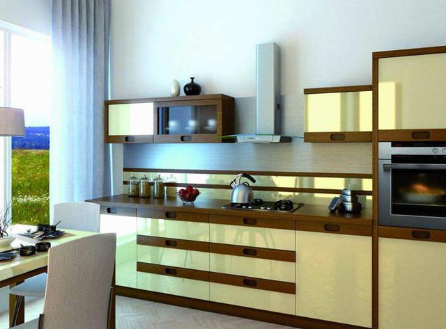 кухни современные модерн глянец фото