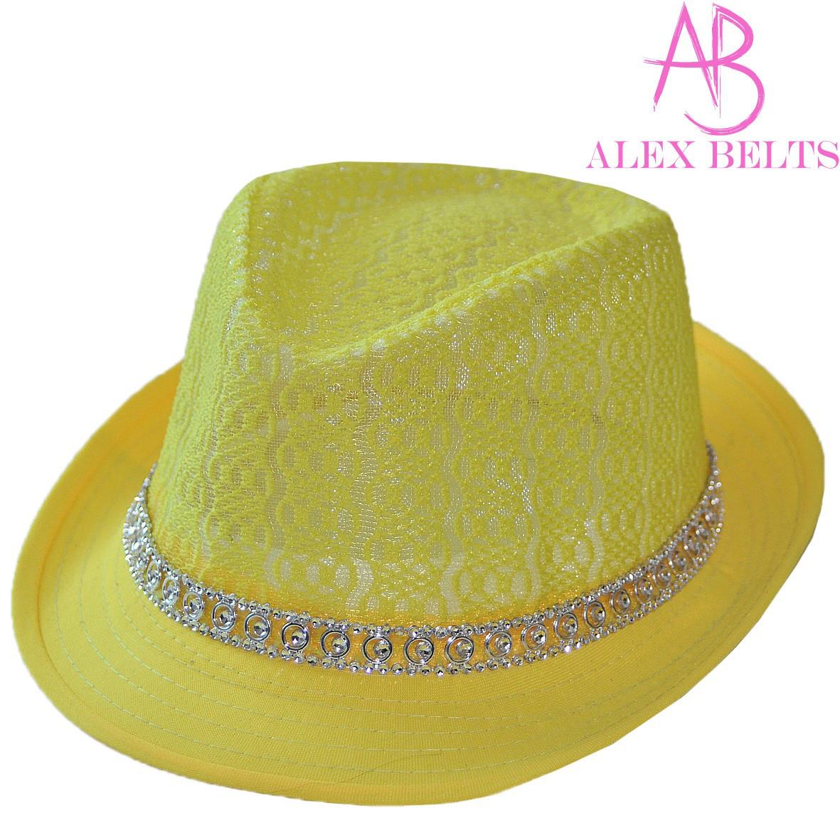 Шляпа  женская (желтый) гипюр р.54 см-купить оптом в Одессе