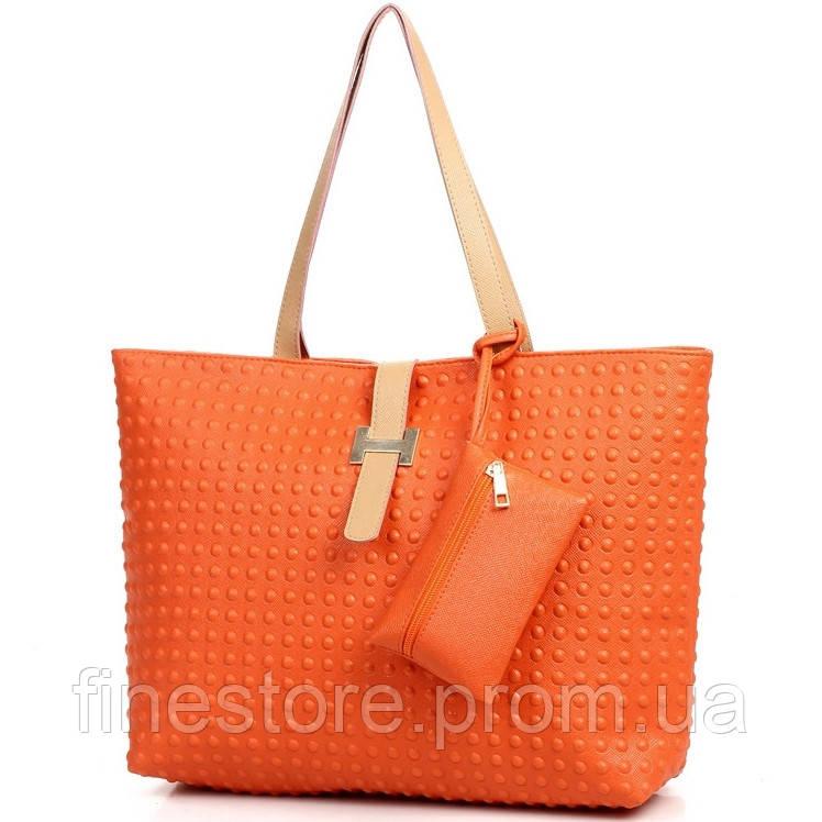 Яркие оранжевые сумки D5933
