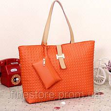 Яркие оранжевые сумки D5933, фото 2