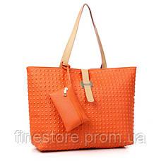 Яркие оранжевые сумки D5933, фото 3