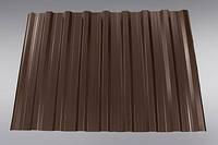 Профнастил ТАЙЛ  нс - 20 толщиной 0.45 мм, Китай 8017 коричневый