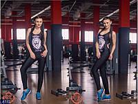 Женский комбинезон для фитнесса