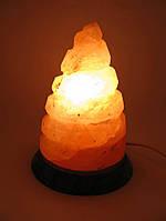Солевой светильник Спираль