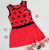 """Платье детское """"Дива"""", размер 2-6 лет, малиновый"""