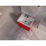 Тумба с раковиной Ювента Tivoli (Тиволи) TV-80 красный, 800х500х455 мм , фото 4