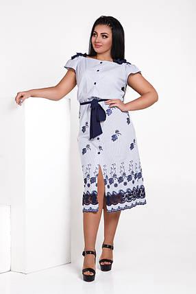 ДТ232 Платье прямое  (размеры 50-56), фото 2