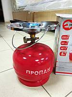 Комплект газовый кемпинговый INTERTOOL GS-0005 , фото 1