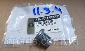 Пробка масляного поддона Renault Logan (оригинал)