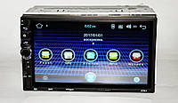 2 din автомагнитола Пионер андроид 7' сенсор +кнопки GPS BT WIFI 8701 android Pioneer 2 дин дін магнітола