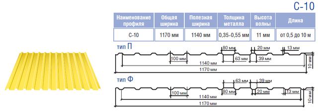 profnastil-thermasteel-c10