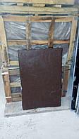 Каменная фасадная плита 900*600*30 , натуральный , рваный камень, коричневый цвет , фасадная плита
