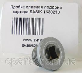 Пробка масляного поддона Renault Logan (Sasic 1630210)(среднее качество)