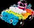 Іграшка Bunchems (Банчемс) 200 шт. м'який пухнастий кульку реп'ях конструктор-липучка іграшка, фото 5