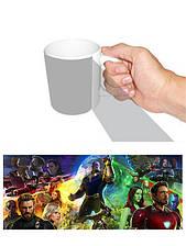 Чашка Месники біла керамічна