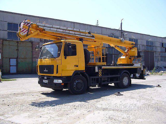 Новая автовышка АГП-30-А на шасси МАЗ-5340