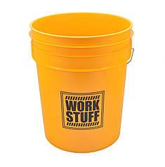 Ведро для мойки автомобилей 20 литров желтое