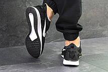 Мужские кроссовки Nike,летние,сетка,темно серые с белым, фото 3