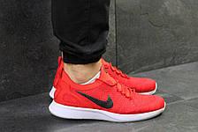 Мужские кроссовки Nike,летние,сетка,красные, фото 3