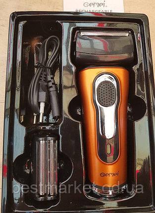 Электробритва сеточная с триммером Gemei GM-7110