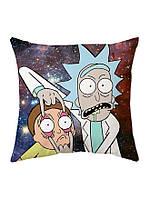 Рик и Морти подушка 40см